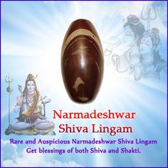 Narmadeshwar Shiva Lingams are found only in the Narmada River. Narmadeshwar Shiva Lingams are formed naturally in egg shape and represents the Pure Consciousness of Lord Shiva and Holy Markings (which differ from stone to stone) represent Goddesses Shakti, Thus Narmadeshwar Shiva Lingam symbolizes oneness of Lord Shiva and Goddesses Shakti. Daily Puja are offered to Narmadeshwar Shivlings to negate malefic effects of planet Saturn (Shani) and to achieve success in life. Rishikesh, Mantra, Narmada River, Prayer Room, Achieve Success, Egg Shape, Lord Shiva, Nepal, Minerals