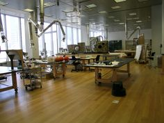 MoMA painting conservation studio