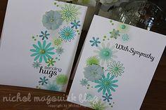 Cards: aqua-green (HA shadow ink Soft Green, Green Hills, Soft Pool, Pool, Soft Stone)