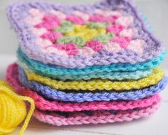 Granny Squares by Helen Philipps