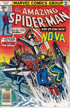 Amazing Spider-Man 171 August 1977 Issue  Marvel by ViewObscura