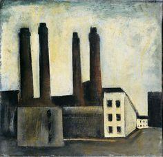 Mario Sironi, Paesaggio urbano, 1927