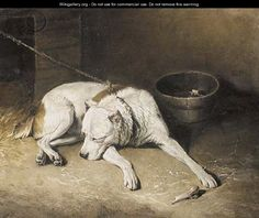 Alexander and Diogenes by Landseer Pets Art Repro Made in U.S.A Giclee Prints