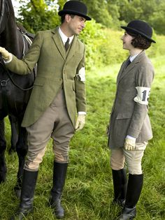 """ Tony and Mabel in Downton Abbey 5x06 (via patsan) """