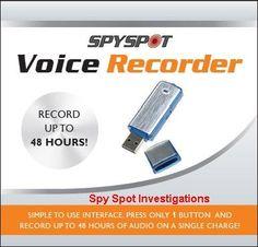 Voice Activated Digital Audio USB 4GB Recorder Voice Recorder.