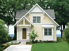 Award-winning cottage style - Plans & photo by Visbeen Architects - Cabin Life Magazine