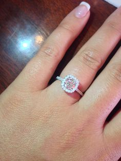 Beautiful! This ring is everything I imagined!