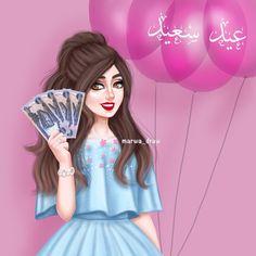 #عيد_سعيد 🎈 . . #marwa_draw #ibispaintx #mydrawing #drawing #artist #sketch #myfollow #digitalart #anime #girl #كلنا_رسامين #رسمتي #مواهب #رسامين_عرب #انمي