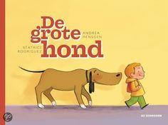 De grote hond - Andrea Hensgren - kreeg de Kiddo leespluim voor de maand april. http://www.leespluim.nl