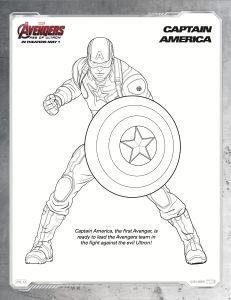 Coloriage captain america a imprimer 380 deco de portes - Jeux de captain america gratuit ...