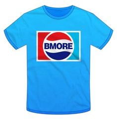 Bmore Cola T-shirt – Get a refill back in time... Refresh your wardrobe, and quench your thirst – all the while paying homage to the slowly fading visual vernacular of the Baltimore streets. Grab this Super Rad t-shirt before they're all gone! http://www.carlosvigil.bigcartel.com/product/bmore-cola-new