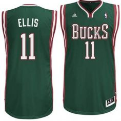 0c2d5427c ... White Clearance Sale Milwaukee Bucks Monta Ellis 11 Adidas Swingman NBA  Jersey (Green) ...