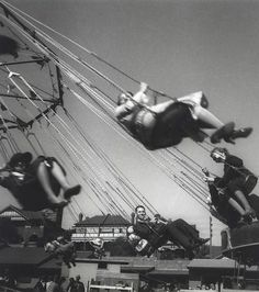 Olive Cotton - Fairground Ride (1930)