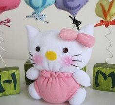 Sock Hello Kitty Tutorial