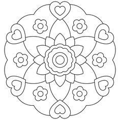 Image for Mandala Coloring Pages Kids