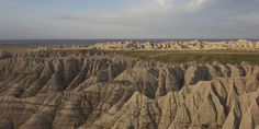 SOUTH DAKOTA: One of the world's richest fossil beds can be found at Badlands National Park. Ancient mammals, like the saber-toothed cat, on...