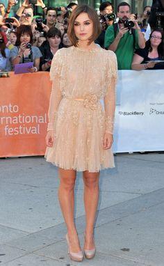 Keira Knightley Wears Elie Saab in Toronto