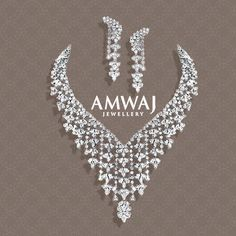 Breath-taking diamond sets. To know where's are all our Amwaj branches pls call us on 2 for info. Silver For Jewelry Making, Gold Jewelry, Lotus Jewelry, Diamond Jewelry, Jewelery, Fine Jewelry, Real Diamond Necklace, Small Necklace, Jewellery Sketches
