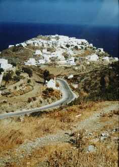 Love the paths across the Island of Siphnos, the road and the path from Artemonas to Kastro. atravelerslibrary.com