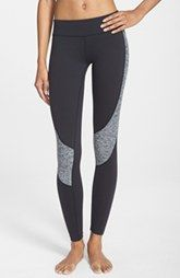 Beyond Yoga Curved Space Dye Panel Leggings