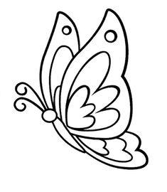 Tranh tô màu con bươm bướm