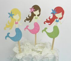 Mermaid Under the Sea Centerpiece Decorations. $15.00, via Etsy.