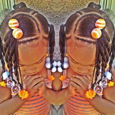 Ponytails w/braids