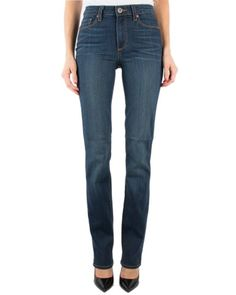 Paige Premium Denim Hoxton Straight in Raylene Ag Jeans, Paige Denim, Quilted Jacket, Fitness Models, Dress Up, Fashion Outfits, Skinny, Boutique, Spring 2016
