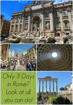 Only 3 days in Rome, day one