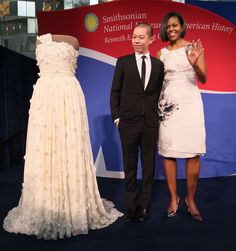 Jason Wu's inaugural gown for the first lady, Michelle Obama
