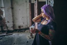 Photo In the Morning by Michaël Fournier on Studio Portraits, Tattoos For Women, Photo S, All About Time, Thats Not My, Hair Styles, Model, Beautiful, Beauty