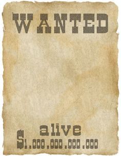 Printable Wanted Posters Extraordinary Free Printable Wanted Poster Just Add Picturesend Out As Thank .