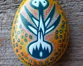 Rekindle Stones 52 : hand painted affinity stone. $15,00, via Etsy.