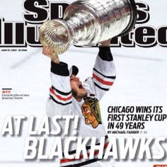 Chicago Blackhawks - 2010 Stanley Cup Champs! One of the BEST days of my life :) <3
