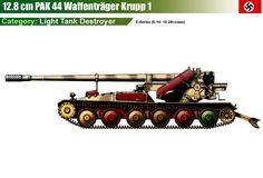 Waffenträger Krupp 1 für 128 mm PaK 44