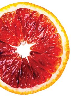 They may sound like a citrus best suited for suckers but the deep-crimson-colored flesh of blood oranges is actually the result of young developing fruit exposed to low nighttime temperatures. Fruits Drawing, Food Drawing, Fruit And Veg, Fruits And Veggies, Vegetables, Fruit Photography, Photography Magazine, Fruit Painting, Orange Painting
