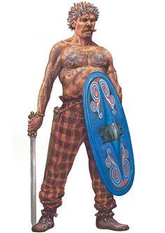La Pintura y la Guerra. Vikings, Ancient Rome, Ancient History, Gaul Warrior, Punic Wars, Celtic Pride, Germanic Tribes, Celtic Warriors, Celtic Culture