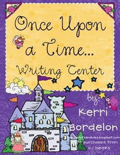 ) Teacher Bits and Bobs: Writing centers up the WAZOO… 1st Grade Writing, Kindergarten Writing, Teaching Writing, Teaching Ideas, Fairy Tale Activities, Literacy Stations, Literacy Centers, Writing Lessons, Creative Writing