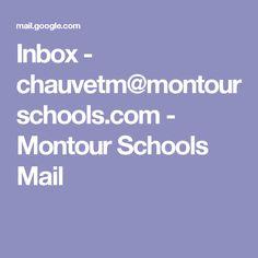 Inbox - chauvetm@montourschools.com - Montour Schools Mail