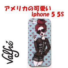 valfre ( ヴァルフェー ) ロサンゼルス の ラブピース iphoneケース PEACE & LOVE IPHONE 5 5S CASE ラブ アンド ピース ガール アイフォン ファイブ ケース iphone5 iphone5s 海外 ブランド