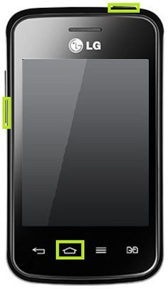 How to hard reset LG E475 Optimus L1 II #Andorid phone