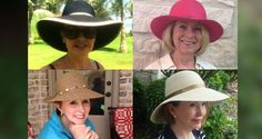 The days of not wearing a sun hat are over for most of us. Fortunately there are hats for summer that flatter every face shape and over great coverage.