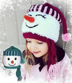 Ravelry: Sweet Snowman Hat Pattern pattern by Joni Memmott / BriAbby