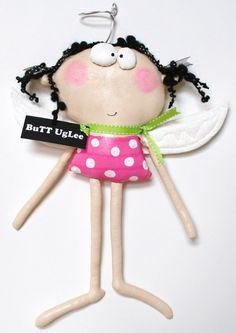 AngeL Named DreW ... Pink polka dots ... BuTT UgLee by buttuglee