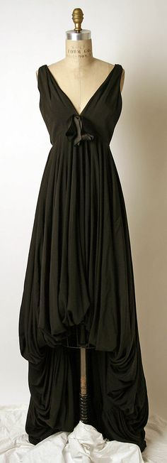 Dress, James Galanos  (American, born 1924): fall/winter 1958-59, American.