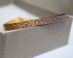 Ensemble de 3 bracelets avec Miyuki perles-or par YRSarmcandy