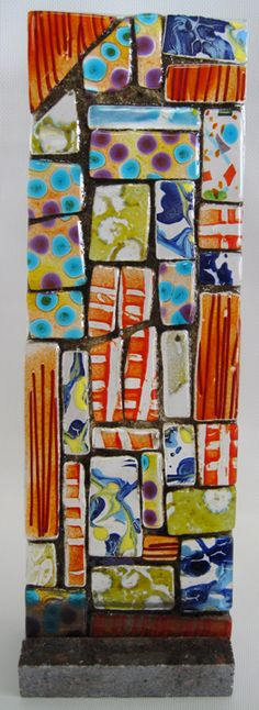 Fused glass components
