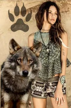 images merging wolf and female Wolves And Women, Wolf Photos, Wolf Pictures, Wolf Love, Beautiful Wolves, Wolf Girl, Nature Quotes, Wild Hearts, Beauty And The Beast