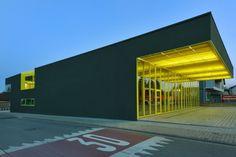 Projekt Freiwillige Feuerwehr Bauschheim Rüsselsheim / Deutschland, 2011 Architekt Schoyerer Architekten BDA
