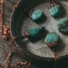 Emerald Crystal Necklace - The Future Kept - 2